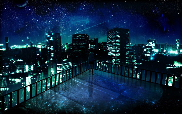 city night stars