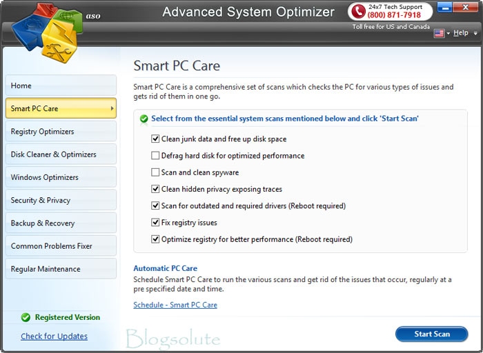 Advanced System Optimizer software review