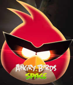 Angry birds space windows theme