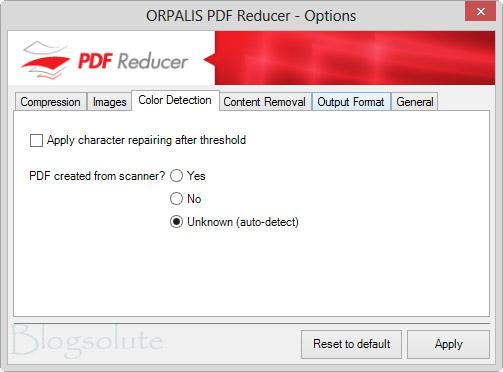 PDF Color Compression