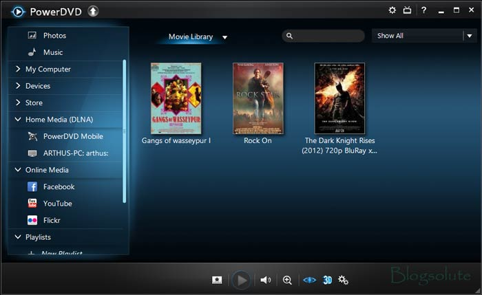 PowerDVD 13 ultra Interface PowerDVD 13 Review: Is it Really #1 Video Player?