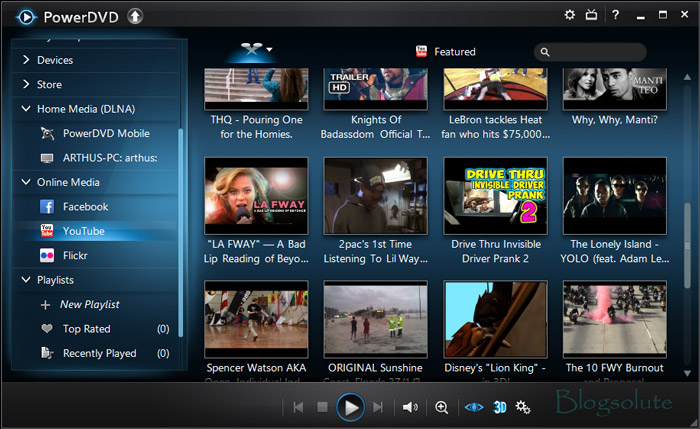 PowerDVD 13 youtube PowerDVD 13 Review: Is it Really #1 Video Player?