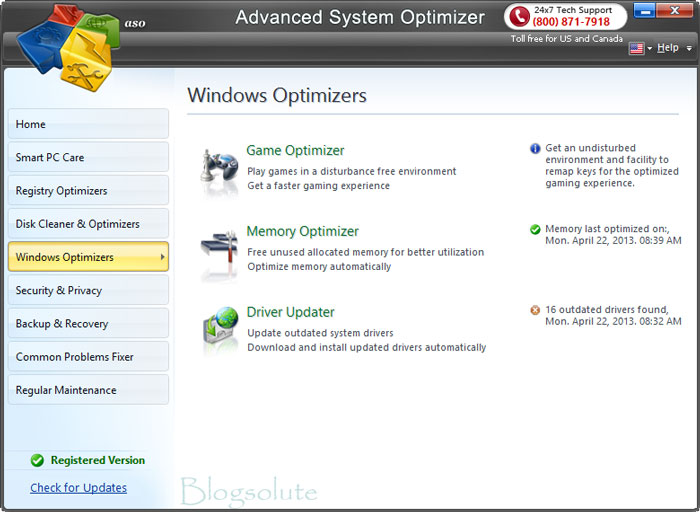 advance system optimizer review