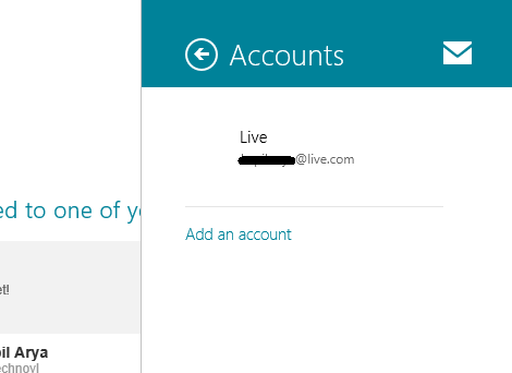 sign out of windows 8 mail app