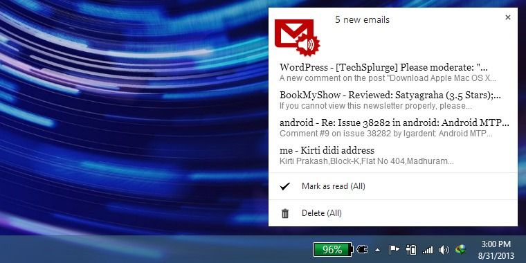 Gmail-Notifier