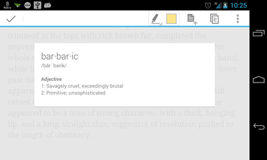 Google Play Books dictionary (2)