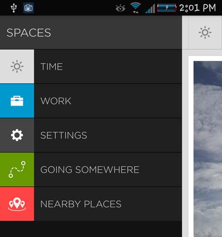 android statusbar default