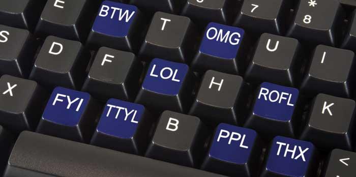 Internet Slang Words