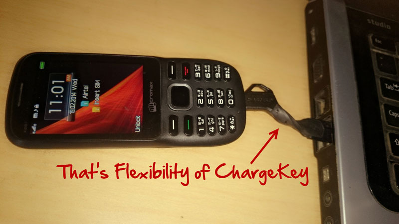 ChargeKey: Small and Flexible