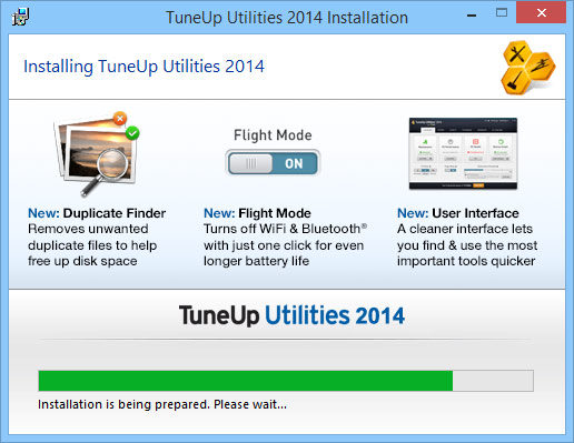 tuneup 2014 installation
