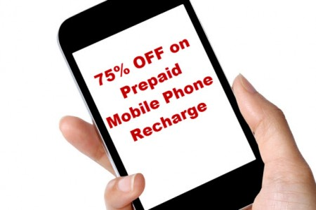 How I Got 75% Discount on Prepaid Mobile Recharge