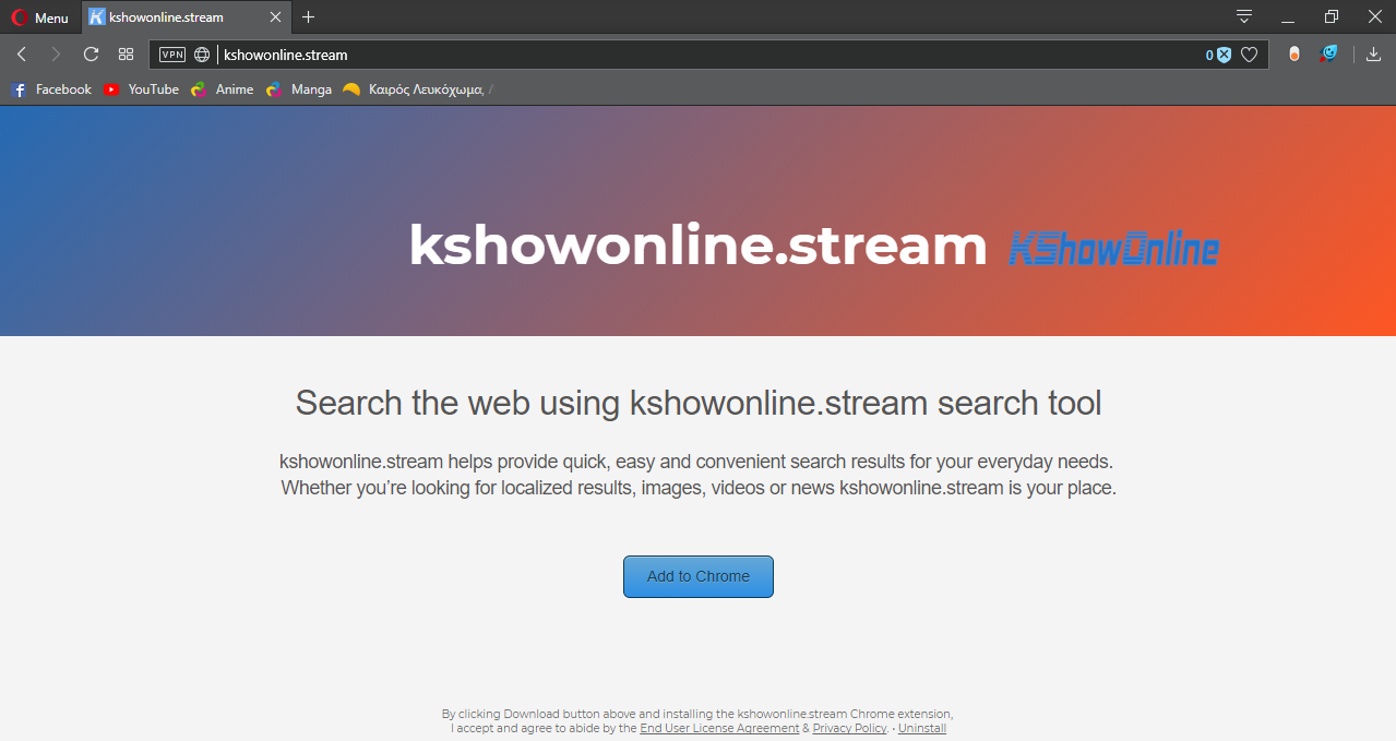 How to Remove Kshowonline.stream from All Browsers