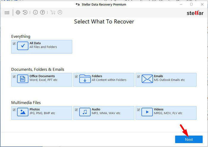 Recover Lost Data 2