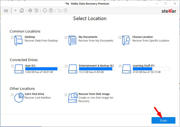 Recover Lost Data 3