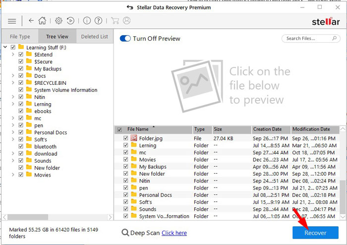 Recover Lost Data 6