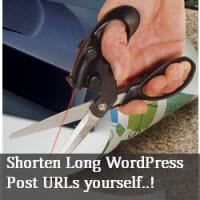 Create your own short  URLs on WordPress